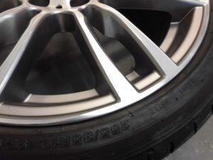 青梅市 BMWポリッシュホイール傷修理