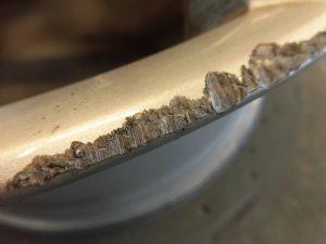 三鷹市 VWアルミホイール傷修理
