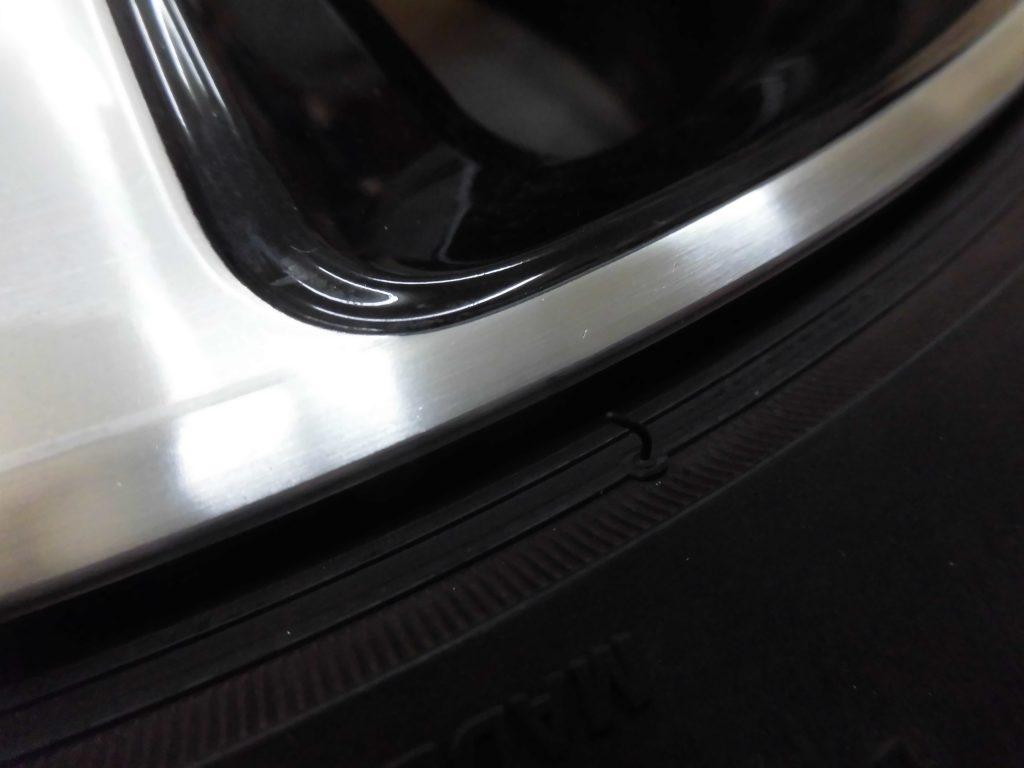 立川市 VWポリッシュアルミホイール傷修理
