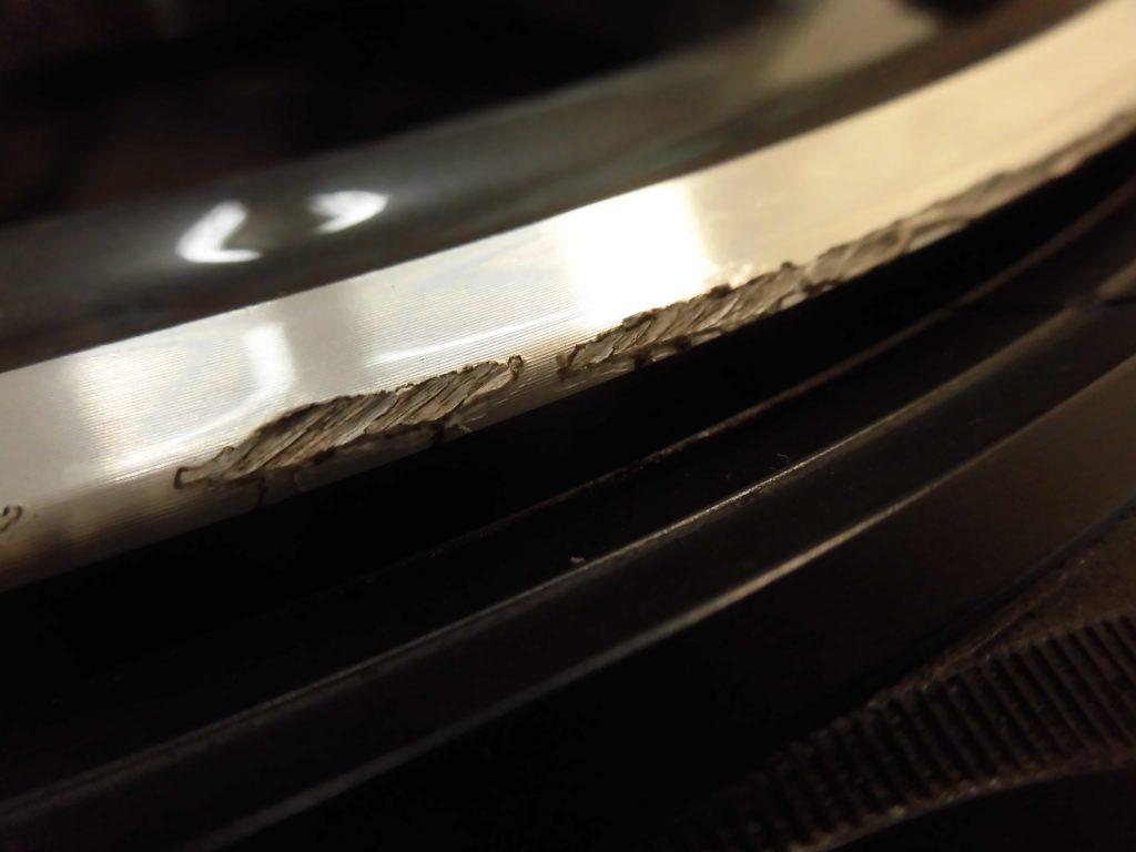 東大和市 BMWポリッシュホイール傷修理