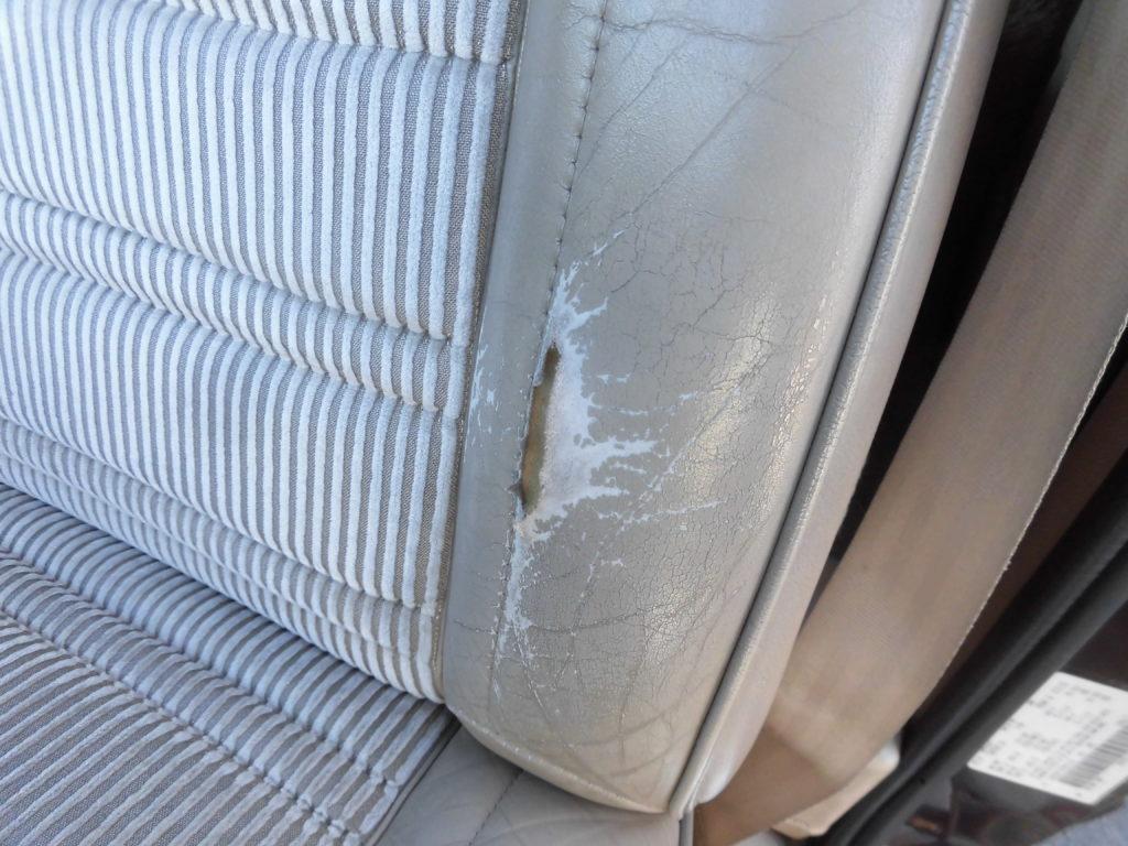 東久留米 内装レザーシート破れ修理