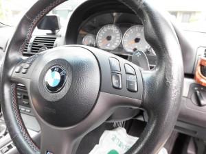 昭島市 BMWステアリング・シートリペア