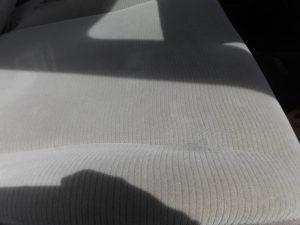 八王子市 内装シートたばこ焦げ穴リペア