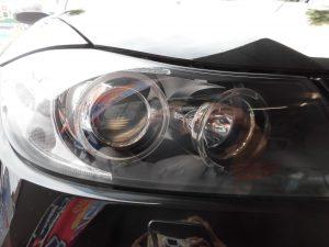 青梅市 BMWヘッドライトクリーニング&コーティング
