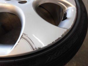 青梅市 VWホイール傷修理