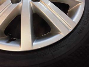立川市 VWアルミホイール修理