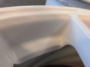 青梅市 レイズホイール傷修理・再塗装