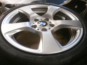 立川市 BMWアルミホイール傷修理