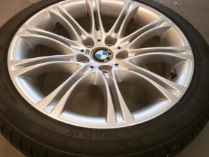 青梅市 BMWアルミホイール傷修理